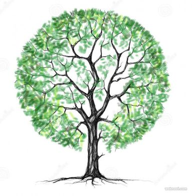 Un dessin 1 arbre reforest 39 action - Dessin arbre simple ...
