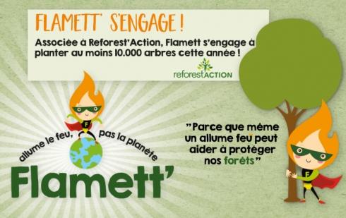 Flamett, Allume le feu pas la planète !