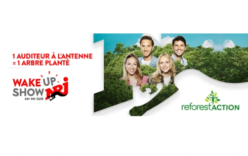 La team NRJ s'engage
