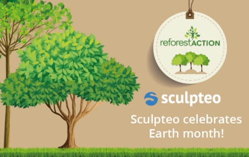 Sculpteo fête le mois de la terre!
