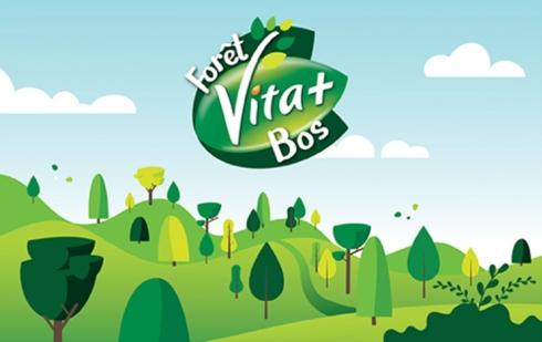 Het Vita+ Bos –                                                La forêt Vita+