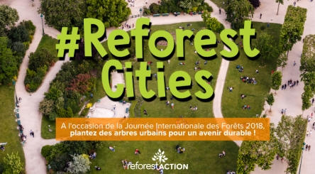 Journée Internationale des Forêts, forêts urbaines, arbres urbains, villes durables